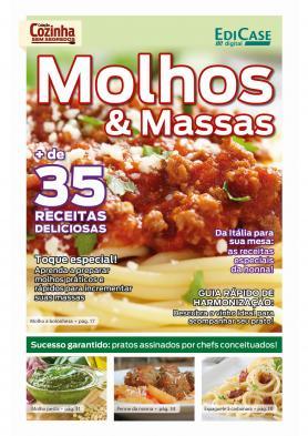 Coleção Cozinha Sem Segredos Ed. 2 - Molhos e Massas