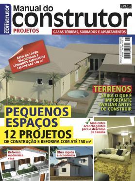 Manual do Construtor Projetos Ed. 15 - 12 Projetos Com Até 150 m²