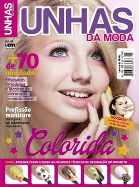 Unhas da Moda Ed. 6 - Colorida