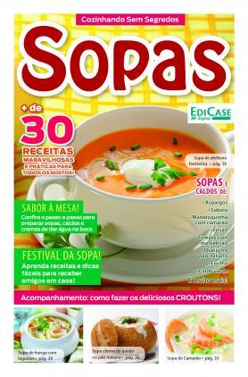 Cozinhando Sem Segredos Ed. 6 - Sopas