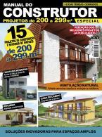 Manual do Construtor Projetos Especial Ed. 3 - 15 Projetos de 200 a 299 m²