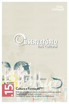 Revista Observatório Itaú Cultural N° 15: Cultura e Formação