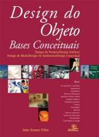 Design de Objetos: Bases Conceituais